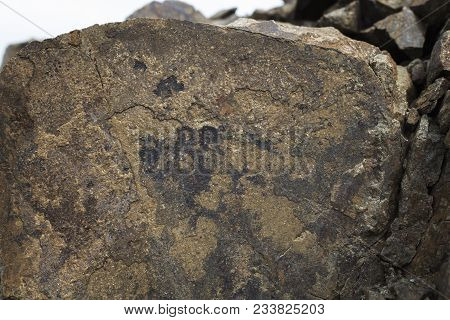 Rocky background. Stone texture. Brown stone background. Nature background. Stone style. Stone. Old Stone. Grunge stone.