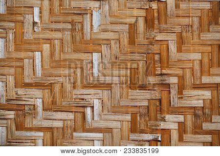 Bamboo Weave Background, Bamboo Wood Texture