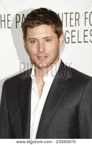 BEVERLY HILLS - MAR 13:  Jensen Ackles arriving at the Paleyfest 2011 event honoring Supernatural in Beverly Hills, CA on March 13, 2011.