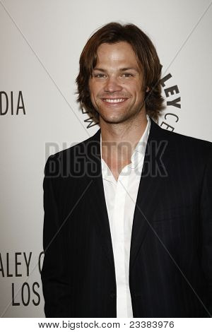 BEVERLY HILLS - MAR 13:  Jared Padalecki arriving at the Paleyfest 2011 event honoring Supernatural in Beverly Hills, CA on March 13, 2011.
