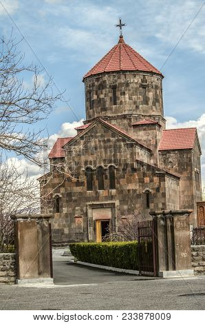 Yerevan; Armenia; The Community Nerkin Charbakh; 2 February; 2018: Entrance To The Courtyard With Th