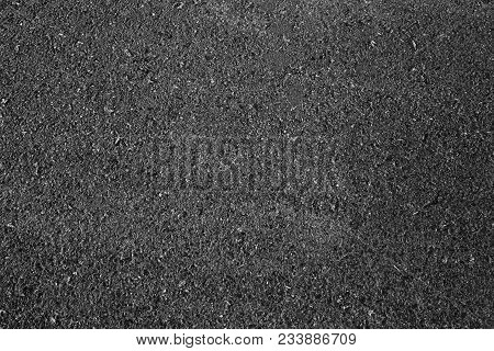 Black Asphalt Texture. Asphalt Road. Stone Asphalt Texture Background Black Granite Gravel