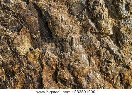 Stone Texture And Background. Rock Texture. Seamless Rock Texture Bakground Closeup. Abstract Stone