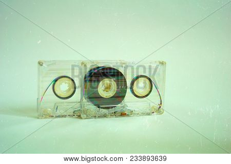 Audio Cassettes For Recorder 80s 90s 70s Retro Vintage Old Music Time Generation Music Tape Wallpape