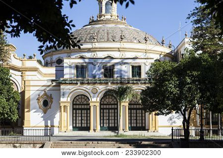 The Lope De Vega Theatre Is A Small Baroque-style Theatre That Was Built For The Ibero-american Expo