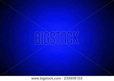 Dark Blue Gradient Background / Blue Radial Gradient Effect Wallpaper