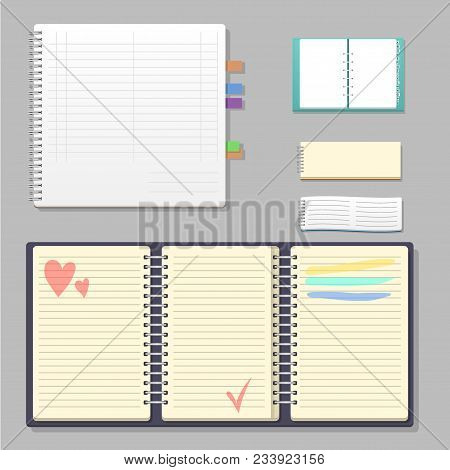 Set Open Realistic Vector & Photo (Free Trial) | Bigstock