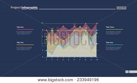 Detailed Line Graph Slide Template. Business Data. Graph, Diagram, Design. Creative Concept For Info