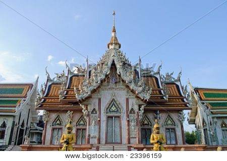 Srisatong Temple In Thailand
