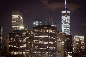 Group Of Buildings In Manhattan, New York