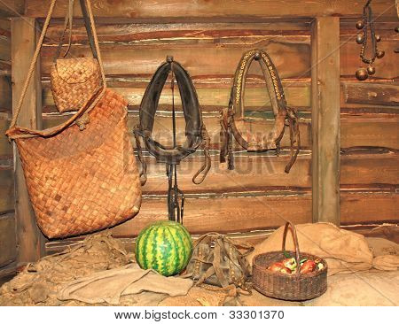 Pots In A Peasant's Hut