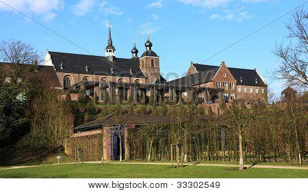 Kamp Monastery in Kamp-Lintfort - North Rhine Westphalia Germany