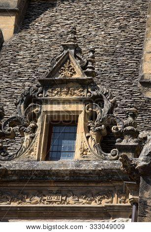 Sarlat, France - September 2, 2018: Maison De La Boetie In Sarlat - Renaissance House Was The Birthp
