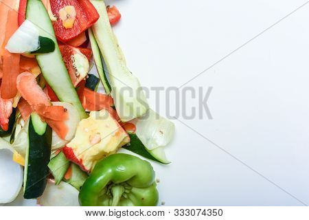 Food Waste From Domestic Kitchen Responsible Disposal Of Household Food Wastage In An Environnmental