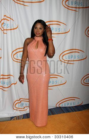LOS ANGELES - MAY 24:  Toni Braxton arrives at the 12th Annual Lupus LA Orange Ball at Beverly Wilshire Hotel on May 24, 2012 in Beverly Hllls, CA