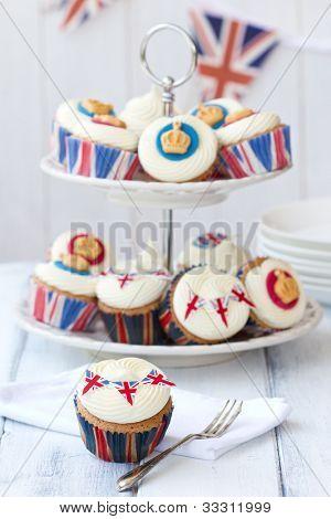 Royal Jubilee cupcakes