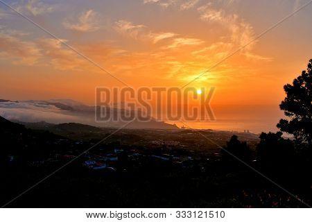 Tenerife Wakes Up With The Sunrise Over Santa Cruz
