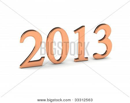 Year 2013 In Copper Numbers
