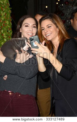 LOS ANGELES - NOV 6:  Whitney Cummings, Maria Menounos at the Love Leo Rescue 2nd Annual Cocktails for A Cause at the Rolling Greens on November 6, 2019 in Los Angeles, CA