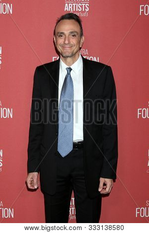LOS ANGELES - NOV 7:  Hank Azaria at the 4th Annual Patron of the Artists Awards, at Wallis Annenberg Center for the Performing Arts on November 7, 2019 in Beverly Hills, CA