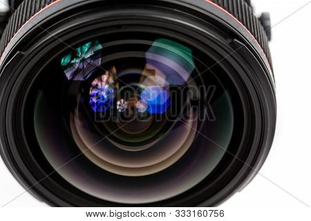 Objective Lens Of Photo Camera