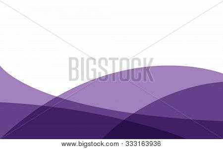 Background. Abstract Purple Background Wave Gradations, Modern Texture Background, Color Gradations