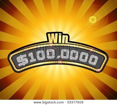 Vector Millionaire Contest Masthead