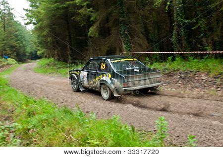 M. Conlon Driving Ford Escort