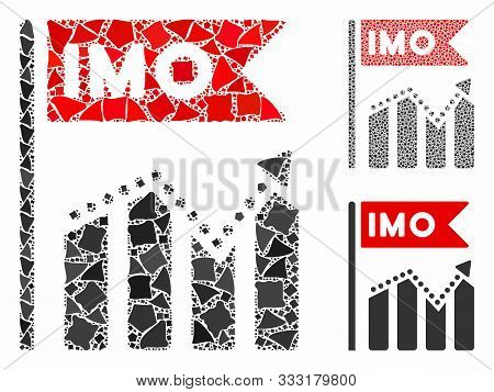 Imo Chart Trend Mosaic Of Abrupt Items In Various Sizes And Shades, Based On Imo Chart Trend Icon. V