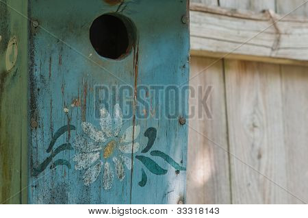 Old Weathered Bird House