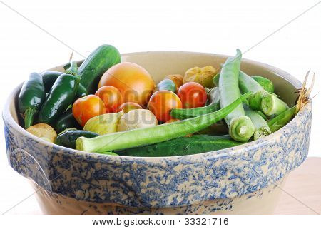 Cleaning Vegetables