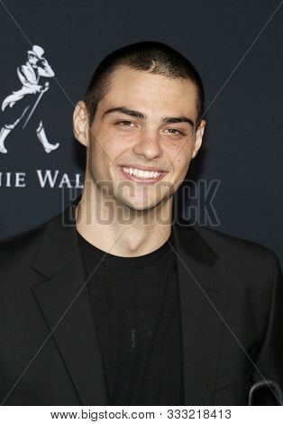 Noah Centineo at the Los Angeles premiere of 'Charlie's Angels' held at the Regency Village Theater in Westwood, USA on November 11, 2019.
