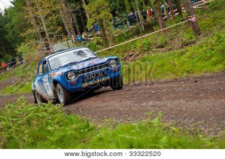 M. Sheahan Driving Ford Escort