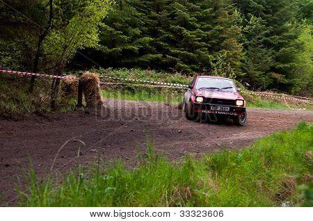 S. Mcgirr Driving Toyota Starlet