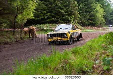 J. Deane Driving Ford Escort
