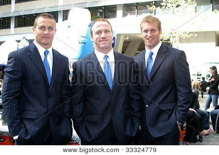 Matt Cooper, Luke Bailey, Mark Gasnier