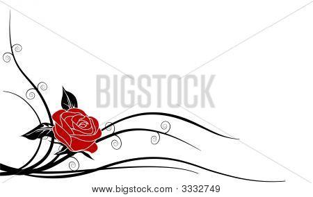 Silhouette Rose 1C