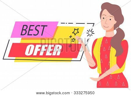 Best Offer And Price With Discount On Sale Capture On Pink And Red Fields. Good Deal For People. Hap