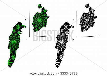 Archipelago Of San Andres, Providencia And Santa Catalina (republic Of Colombia) Map Is Designed Can