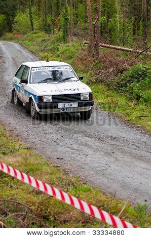 Talbot Sunbeam Rally
