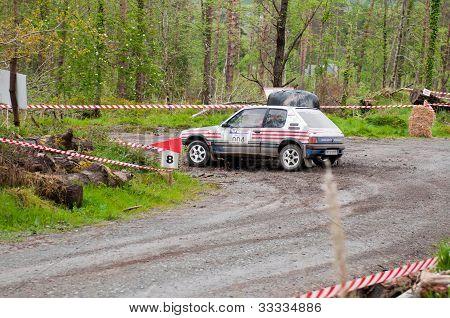 I. Downey Driving Opel Corsa