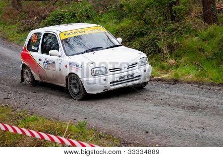 D. Nagle Driving Nissan Micra
