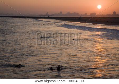 Sunset In Seal Beach