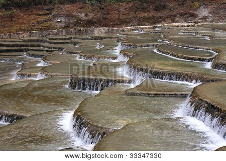 Infinity Pool At Jade Dragon Snow Mountain Of Lijiang