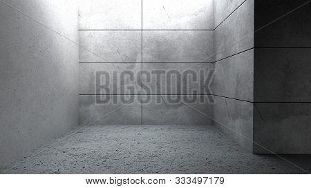 Simple Minimalistic Interior 3d Render Image Close Up