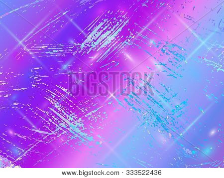 Opal Gemstone Background. Trendy Vector Template For Holiday Designs, Invitation, Wedding, Save The