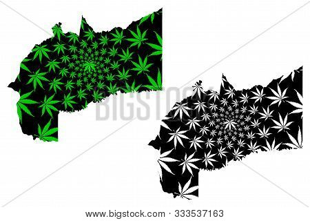 Meta Department (colombia, Republic Of Colombia, Departments Of Colombia) Map Is Designed Cannabis L