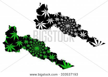Putumayo Department (colombia, Republic Of Colombia, Departments Of Colombia) Map Is Designed Cannab