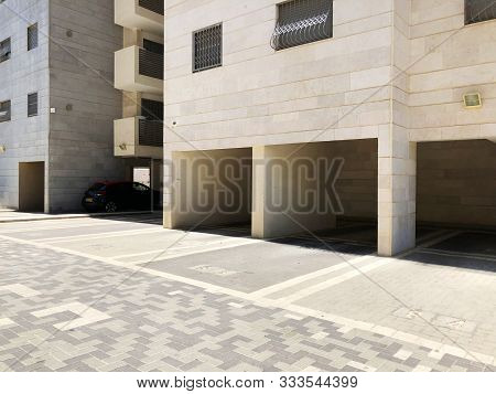 Rishon Le Zion, Israel  October 07, 2019: Residential Building In Rishon Le Zion, Israel.