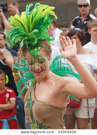 Participant At Copenhagen Carnival 2012